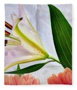 Flowering Fleece Blanket