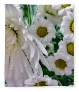 Flowering Together Fleece Blanket