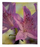 Flowers In Bloom Fleece Blanket