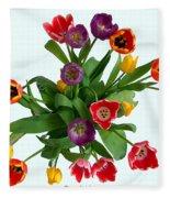 Flowers  Just  For  You Fleece Blanket