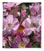 Flowers- Mass Roses Fleece Blanket