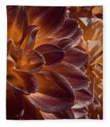 Flowers Should Also Turn Brown In Autumn Fleece Blanket