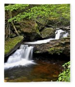 Flowing Falls Fleece Blanket
