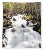 Flowing Fast Fleece Blanket