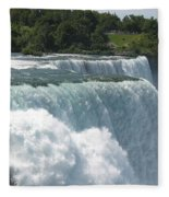 Flowing Strong Fleece Blanket
