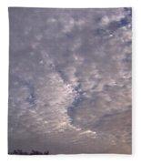 Fluff In The Sky Fleece Blanket