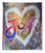 Fluid Joy Fleece Blanket