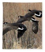 Fluid Migration Fleece Blanket