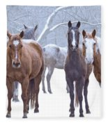 Flurries Fleece Blanket