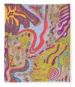 Flutterfly Land Fleece Blanket