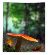 Fly Agaric Fleece Blanket