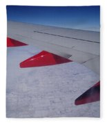 Fly Away With Me Fleece Blanket