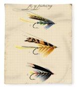 Fly Fishing-jp2095 Fleece Blanket