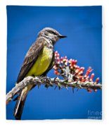Flycatcher Fleece Blanket