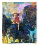 Flying In My Dreams Fleece Blanket