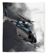 Flying Into The Light Fleece Blanket