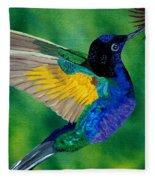 Flying Jewel Fleece Blanket