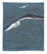Flying On A Breeze Fleece Blanket