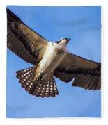 Flying Osprey Fleece Blanket