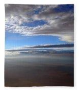Flying Over Southern California Fleece Blanket