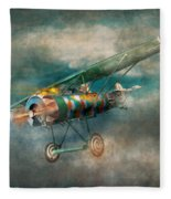 Flying Pig - Acts Of A Pig Fleece Blanket