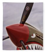 Flying Tiger P-40 Fleece Blanket