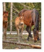 Foal Spot Fleece Blanket