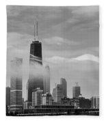 Foggy City Fleece Blanket