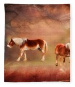 Foggy Day - Featured In Funky Images Group Fleece Blanket