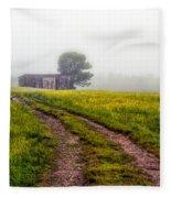 Foggy Morning Fleece Blanket