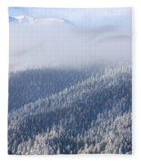 Foggy Peak Fleece Blanket