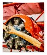 Fokker Dr.1 Fleece Blanket