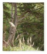 Foliage Art Fleece Blanket