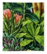 Foliage IIi Fleece Blanket