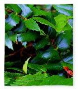 Foliage N Such Fleece Blanket