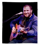 Folk Musician David Bazan In Concert Fleece Blanket