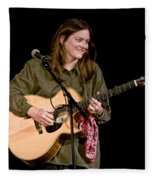 Folk Musician Denise Franke Fleece Blanket