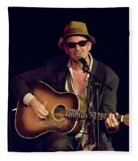 Folk Singer Greg Brown Fleece Blanket