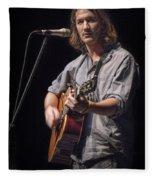 Folk Singer Griffen House Fleece Blanket