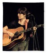 Folk Singer Pieta Brown Fleece Blanket