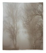 Follow It And Know Your Forests Fleece Blanket