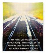 Follow The Light Fleece Blanket