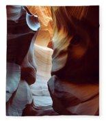 Follow The Light II Fleece Blanket