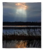 Follow The Light Fleece Blanket