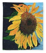 Follow The Sun Fleece Blanket