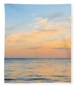 Folly Beach Lighthouse Fleece Blanket