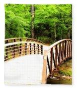 Folsom Bridge 2 Fleece Blanket