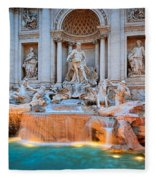 Fontana Di Trevi Fleece Blanket