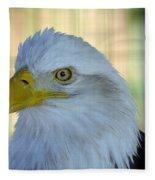 Fontana Eagle Portrait 4 Fleece Blanket