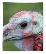 Fontana Turkey Portrait Fleece Blanket